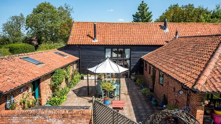 The Old Barn in Weybread, Suffolk, is on sale for �650,000. Picture: FINE & COUNTRY