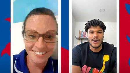 Former Ipswich Town star Tyrone Mings rang NHS staff to say thank ou on behalf of the national team