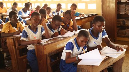 Truancy levels are down at the Ghanaian schools that Futurestars works with. Photo: Contributed