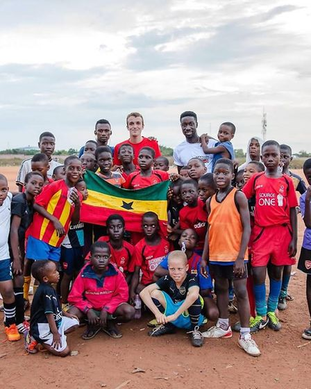 Leo Druade says his experience working with Futurestars and Akwaaba was life changing. Photo: Contri