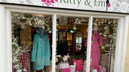 Kitty & Em's Hadleigh high street shop, prior to lockdown Picture: Kitty & Em