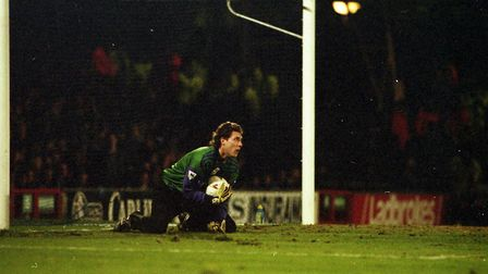 Craig Forrest pictured in the Blues' game against Newcastle in February 1995 Picture: ARCHANT