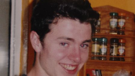 Luke Durbin, went missing in May, 2006, after a night out in Ipswich. Picture: ARCHANT