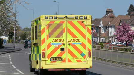 The minute silence is to commemorate key workers such as ambulance and NHS staff. Picture: SARAH L