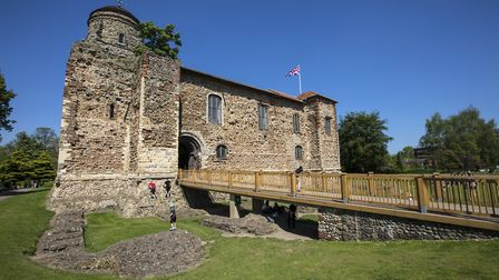 Colchester Castle can now be visted online by schoolchildren hoping to learn about the Romans Pictur