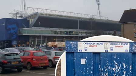 Ipswich Town will clean the North Stand roof this week and have already renovated turnstiles in the