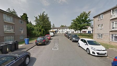 Cavendish Road in Sudbury where one of the incidents took place Picture: GOOGLE MAPS