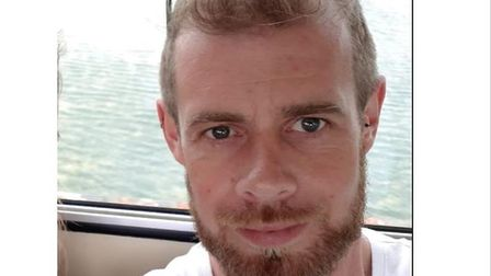 Police are appealing for help to trace missing 36-year-old Simon Garnham Picture: SUFFOLK CONSTABUL
