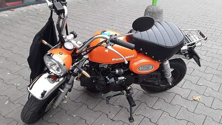 Police are searching for this mini motorbike Picture: SUFFOLK CONSTABULARY