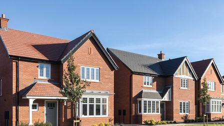 An indicative image of the homes which will be built off Green Road in Haughley. Picture: BLOOR HOME