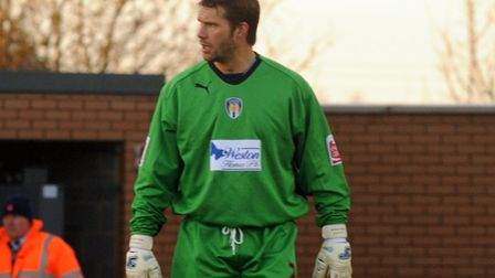 Jimmy Walker, pictured during his time as a Colchester United player. Picture: ANDREW PARTRIDGE