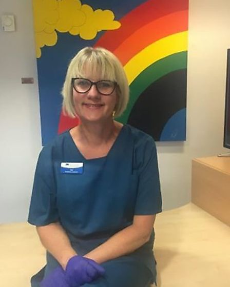 Sue Rivers of Ravenswood Medical Practice is set to shave her hair off in aid of Colchester and Ipsw