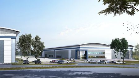 An artist's impression of phase 2 of Suffolk Park Picture: JAYNIC