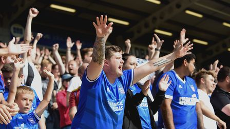 More than 4,000 Town fans made the trip to Peterborough earlier in the season - Jason Milton says th