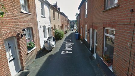 The assault is alleged to have happened in Plough Lane, Sudbury, outside a residential property. Pic