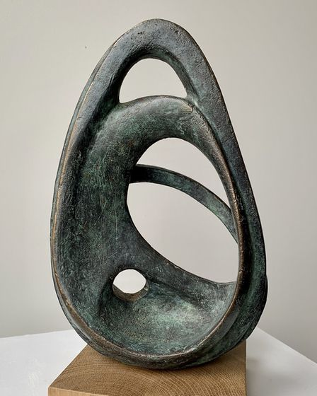 Contemplation 1 by Lucy Lutyens which is part of the Art for Cure online exhibition - the largest vi
