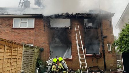 Essex Police are treating the fire as arson and have arrested a woman in connection with the inciden
