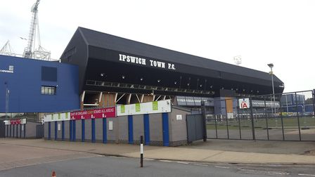 When Town do return to Portman Road, it's likely games will be behind closed doors. Picture: MATT ST