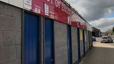 Turnstile entrance at Portman Road - there could be dedicated entrances and time slots for elderly f