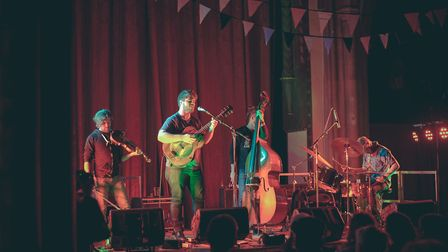 Marty O�Reilly & The Old Soul Orchestra performing at St Peter's