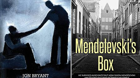 The first featured book club reads - The Levelled by Jon Bryant and Mendelevski's Box by Roger Swind