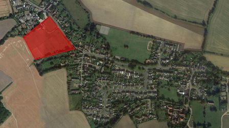 Plans for a 42-home estate off Main Road in Somersham, near Ipswich, have been given the go ahead. P