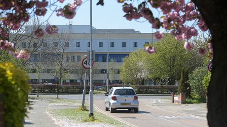 Nine people have died at Ipswich Hospital in the last 24 hours. Picture: SARAH LUCY BROWN