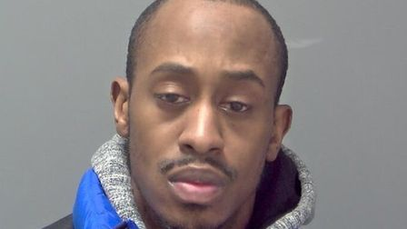 Akeem Long was jailed for two years at Ipswich Crown Court Picture: SUFFOLK CONSTABULARY