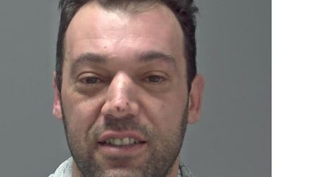 Nuno Saraiva was jailed for a total of 16 weeks after admitting three assaults Picture: SUFFOLK CON