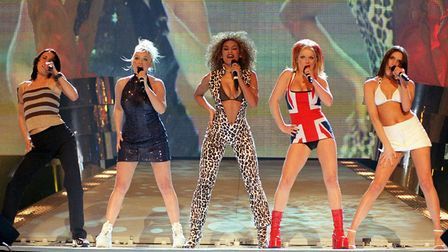 The Spice Girls in the 1990s. Picture: Fiona Hanson/PA