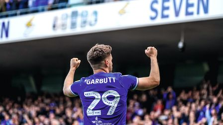 Luke Garbutt is currently on loan at Ipswich Town from Everton. Picture: Steve Waller www.step