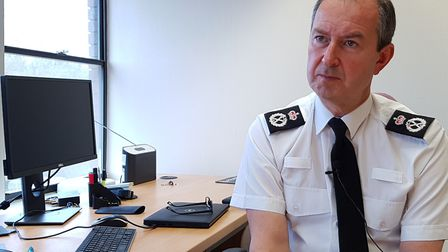 Suffolk Constabulary chief constable Steve Jupp said police officers have been assaulted, spat at an