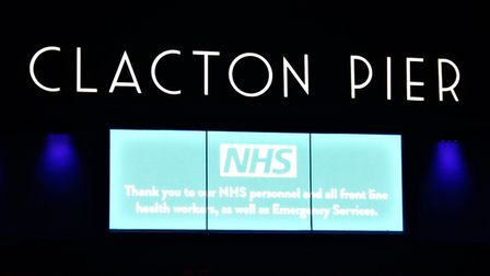 Clacton Pier is planning to throw a party for frontline NHS staff and their families Picture: KEVIN
