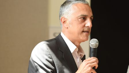 Andy Yacoub, CEO Healthwatch Suffolk Picture: GREGG BROWN