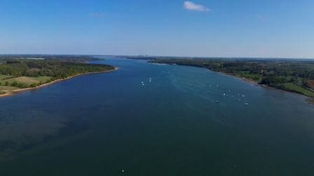 A panoramic shot of River Orwell Picture: Ott Tuulberg