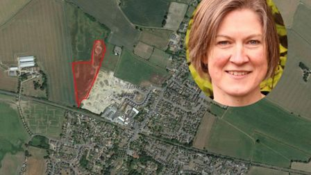 An appeal over plans for 65 homes in Elmswell has been submitted. Dr Helen Geake (pictured) previous