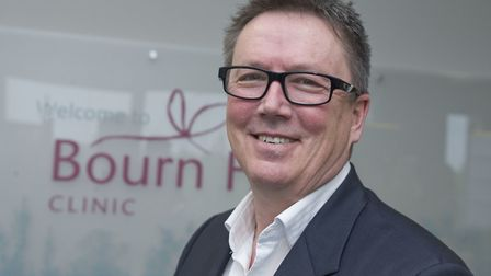 Dr Mike Macnamee, chief executive of Bourn Hall. Picture: BOURN HALL/SI BARBER