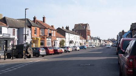 Aldeburgh residents have reported more visitors to the town in recent weeks Picture: SARAH LUCY BROW