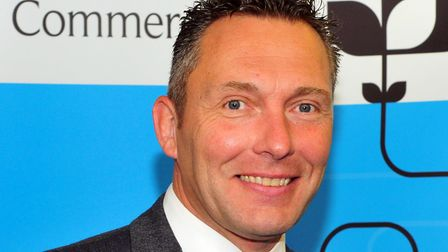 John Dugmore, chief executive of Suffolk Chamber of Commerce. Picture: SUFFOLK CHAMBER