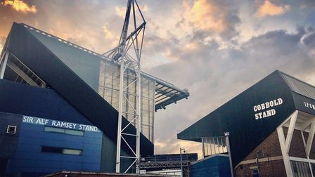 Ipswich Town's League One season looks set to be ended this week. Picture: MARK HEATH