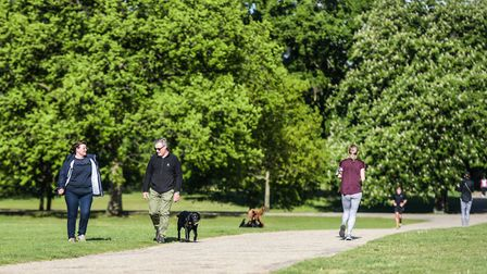 People can take more exercise from Wednesday. Picture : SARAH LUCY BROWN