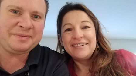 Justin Stearn and his wife Irene, who runs the shop in Newmarket Picture: Justin Stearn / Faraway Fo