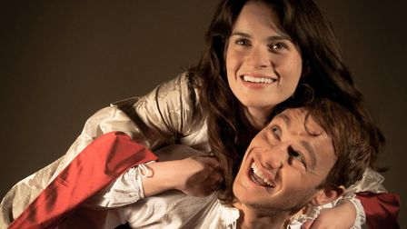 Fallen in Love, the 2011 theatre production , with Fleur Keith as Anne Boleyn and Joseph Pitcher as