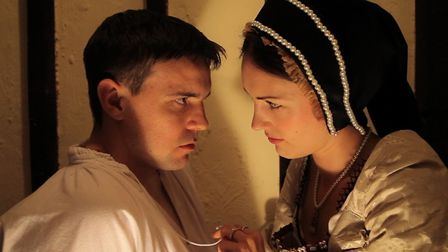 Red Rose Chain's Fallen in Love 2013 starring Emma Connell and Scott Ellis. A revived production is