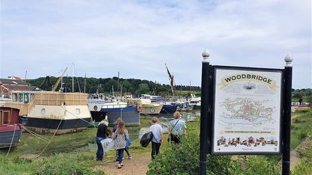 Woodbridge has a vibrant and colourful history Picture: GEMMA JARVIS