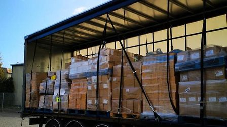 Vestey Food Group has donated �120,000 of supplies to Suffolk's food banks, working with Fareshare