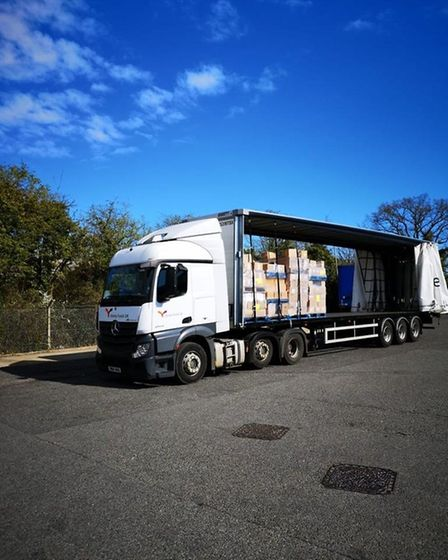 Vestey Food Group has donated �120,000 of supplies to Suffolk's food banks, working with Fareshare.
