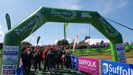 John West Great East Swim 2020 has been cancelled due to the coronavirus outbreak. Picture: RACHEL