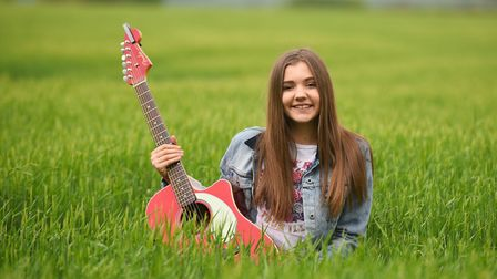 Gabby Rivers back in 2017 before her performance at Leestock Festival. Picture: GREGG BROWN