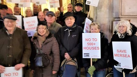 The group has campaigned against several application on Mersea Island, including the 100 homes to be